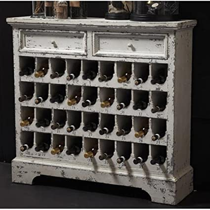 Two's Company Antique Wine Cabinet - Amazon.com: Two's Company Antique Wine Cabinet: Home & Kitchen
