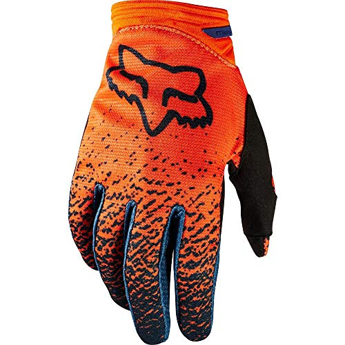 Gloves Motorcycle Dirtpaw (2018 Fox Racing Youth Girls Gloves-Grey/Orange-YS)