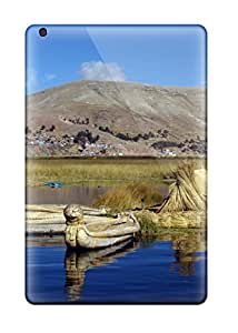 Durable Defender Case For Ipad Mini/mini 2 Tpu Cover(titicaca Lake )
