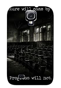 Catenaryoi High Grade Flexible Tpu Case For Galaxy S4 - The Future Vs Progress( Best Gift Choice For Thanksgiving Day)