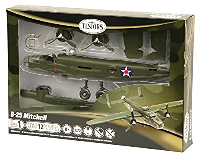 Testors B-25 Mitchell Aircraft Model Kit (1:72 Scale)
