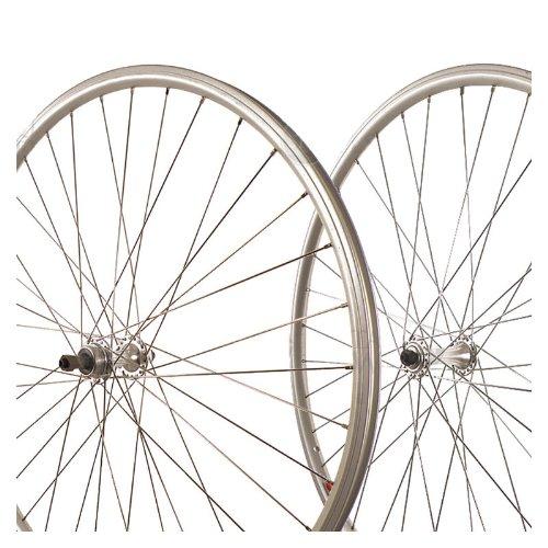 Sta-Tru Silver ST725 36H Rim Rear Wheel (700X25) (Rear Rim)