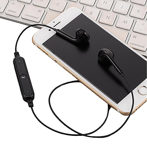 Smiela Bluetooth Headphones 4.1 in-Ear Earphones, Wireless Earbuds for Running, High-Fidelity Stereo Earphones with Microphones