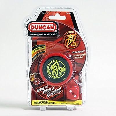 Duncan Freehand Yo-Yo (Red/Black): Toys & Games