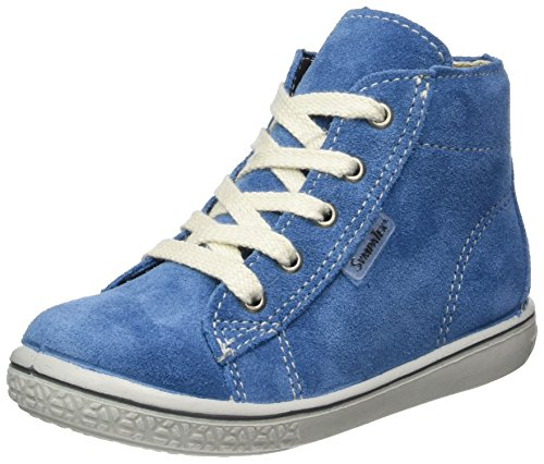 Ricosta Unisex-Kinder Zayni High-Top Blau (Petrol)