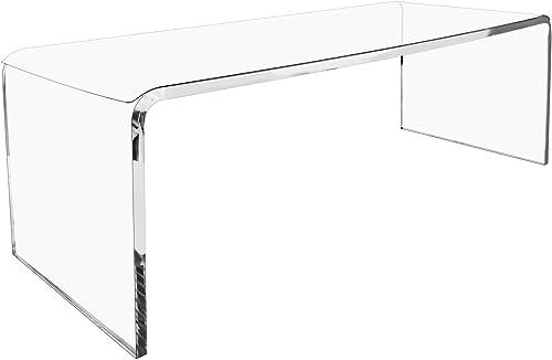 WAHFAY Acrylic Coffee Table