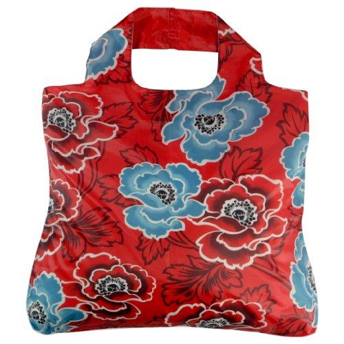 Envirosax AN.B2 Anastasia Reusable Grocery Bag, Red Envirosax Red Bag