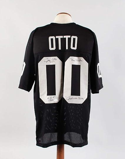 Jim Otto Signed Jersey Raiders - COA JSA at Amazon's Sports ...