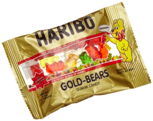 Haribo Gold-Bears, 2-Ounce Packages (Pack of 24) by Haribo (Image #1)