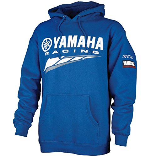 Yamaha Racing Hooded Pullover Sweatshirt. All Cotton. Hoodie Size X-large ()