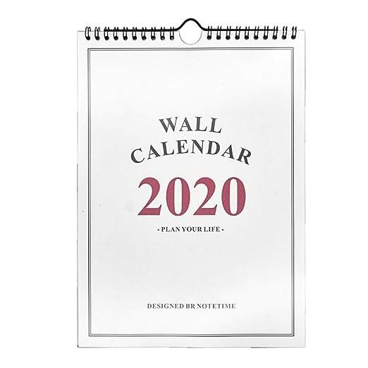 Calendarios de Escritorio 1PC Agenda 2019 2020 365 días ...
