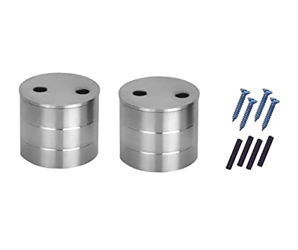 Stainless Steel Wall Bracket Curtain Support 2 Pcs
