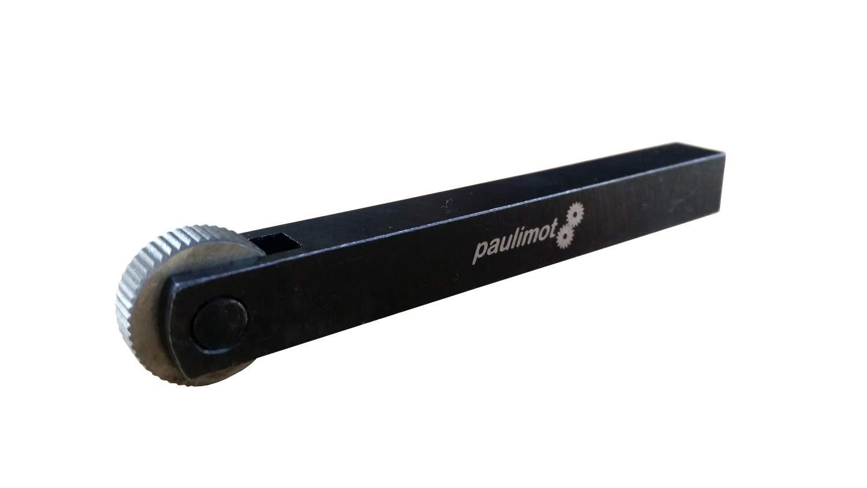 PAULIMOT R/ändelrad R/ändelwerkzeug mit 6 HSS-R/ädern 10x10mm