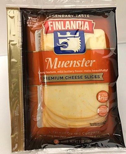 Finlandia Imported Muenster Slices by Finlandia