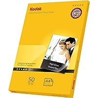 Kodak 280GSM 50 Sheets Ultra Premium 280gsm Glossy A4 Photo Paper, (5740-086)