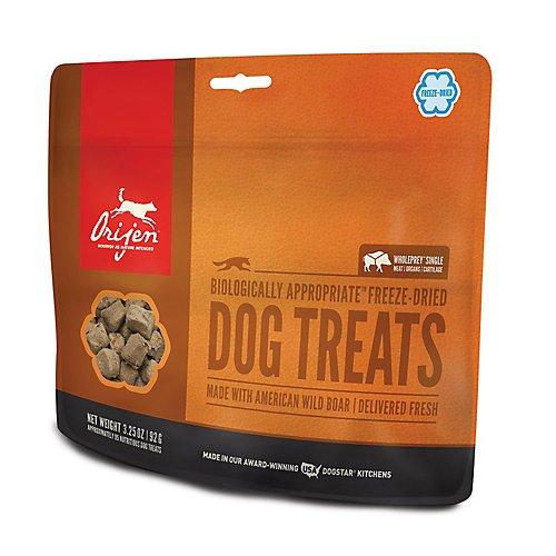 ORIJEN Freeze Dried Wild Boar Dog Treat 3.25oz