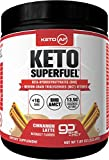 Keto AF Superfuel - Exogenous Ketones from Beta Hydroxybutyrate (BHB) Salts and Pure C8 Triglycerides (MCT). Improve Training + Recovery + Performance* - Cinnamon Latte - 8 OZ