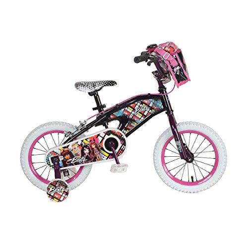 Bratz Kid's Bike, 14 inch Wheels, 8 inch Frame, Girl's Bike, Black -  LT1401-1-JV