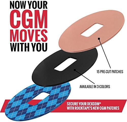 tragbare kontinuierliche Glucose/überwachung Schutzh/ülle f/ür Dexcom G6 CGM-Receiver RED//Vertical//2