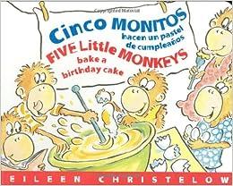 Cinco Monitos Hacen un Pastel de Cumpleanos ... - Amazon.com