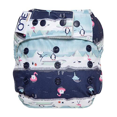 GroVia O.N.E. Reusable Baby Cloth Diaper (Polar Pool Party)