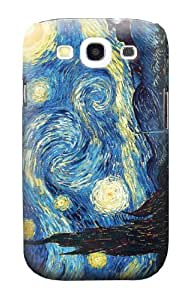 S0213 Van Gogh Starry Nights Case Cover for Samsung Galaxy S3