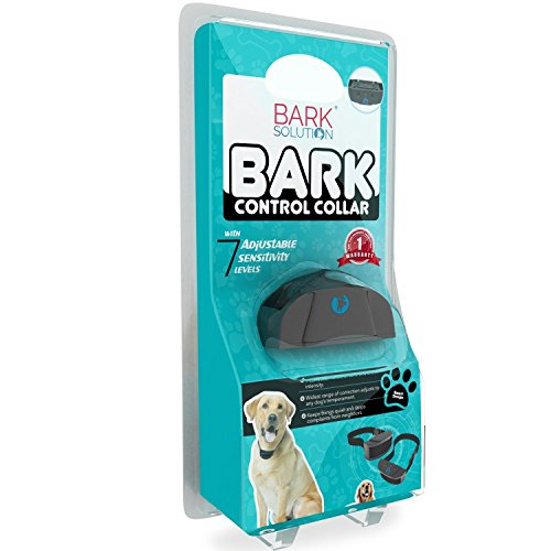 Bark Solution The Original Dog Bark Collar Training System – Electric Shock Control – Exclusively Designed By