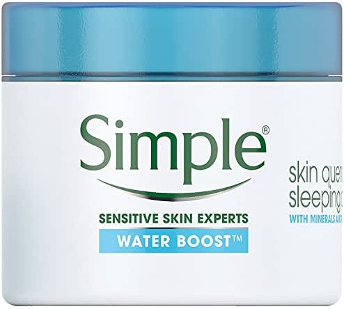 Facial Moisturizer: Simple Water Boost Skin Quench