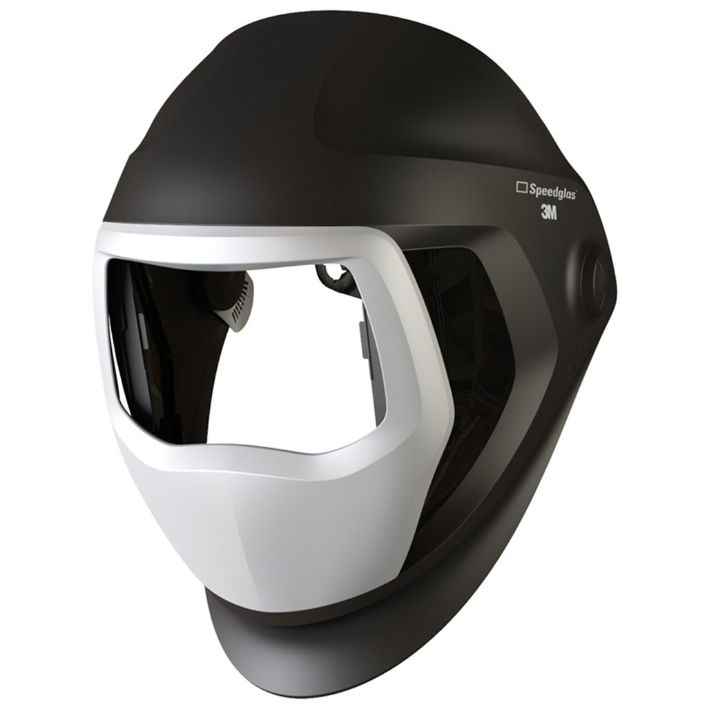 3M Speedglas Helmet 9100, Welding Safety 06-0300-52SW, with SideWindows (headband not included)