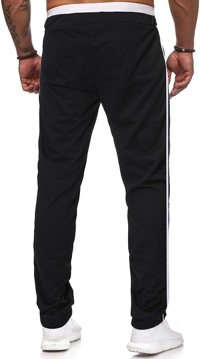 Merish Jogging Hommes Pantalon de Sport Jogger Homme Surv/êtement Coton Slim Fit 211