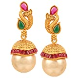 Best Good Gift Girlfriend Awards - Swasti Jewels Created Emerald Ruby Fashion Jewelry Traditional Review