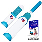 Pet Hair Lint Remover + Ebook Gift Double Sided & Safe to Use