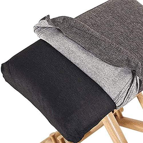 Jakroo Agenouillé Mobile Chaise de Posture, Agenouillement Ergonomique Chaise de Bureau Tabouret Réglable pour Améliorer La Posture, pour Office et Accueil