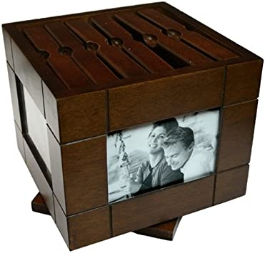 Caja de Madera Portafotos mod. 2293 Portafotos 72 Fotos: Amazon.es ...