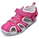 Ioo Summer Beach Outdoor Closed-toe Sandals For Boys And Girls 2 M Little Kid Rose New 33 | amazon.com