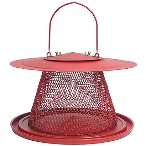 2a66adfa33e Amazon.com   Perky-Pet C00322 Red Cardinal Bird Feeder   Wild Bird Feeders    Garden   Outdoor