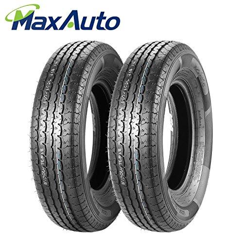 (Set of 2 Radial DOT Trailer Tires ST 205/75R15 205 75R15 8PR/Load Range D 107/102L)