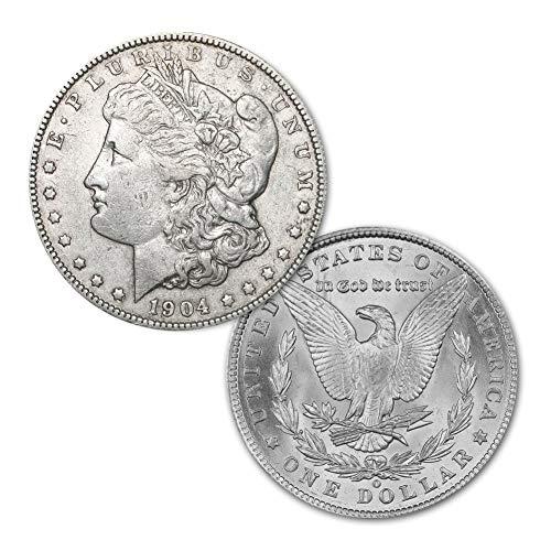 (1904 O Morgan Silver Dollar $1 Brilliant Uncirculated)