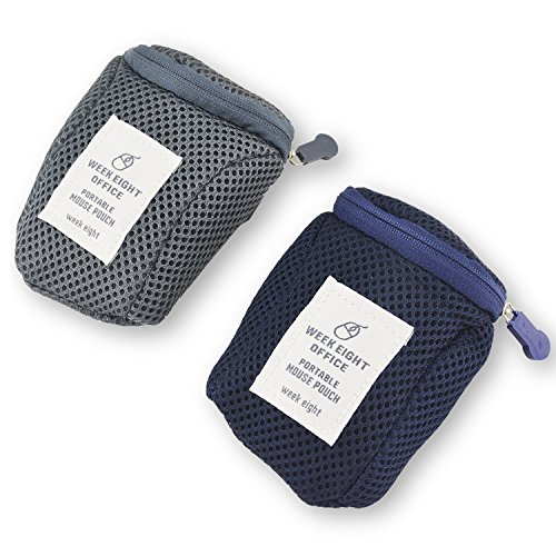 Rancco Mouse Case, Generic Mice Protective Organizer Travel Carrying Pouch Cover Bag(2 Pcs)