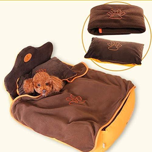Mdesign 犬用ベッドエキストラソフトウォッシャブル快適なペットベッドソファ (Color : M)