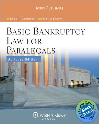 Blackboard Bundle: Basic Bankruptcy Law for Paralegals (Abridged)