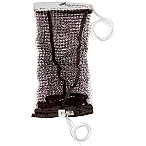 360 Athletics Tournament Badminton Net (Rope Top), Maroon