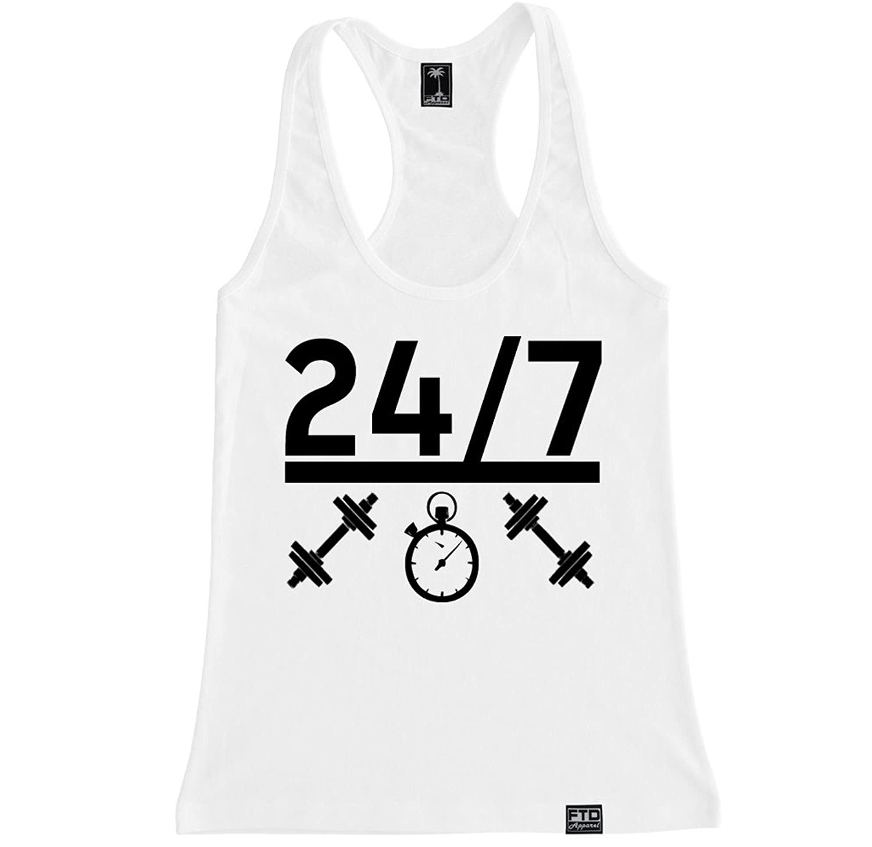 FTD Apparel Women's 24 - 7 Workout Racerback Tank Top