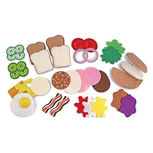 Melissa & Doug Felt Food Sandwich Set (Felt Food Sandwich Set compare prices)