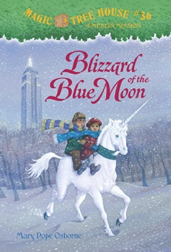 Blizzard of the Blue Moon (Magic Tree House) by Mary Pope Osborne (3-Mar-2008) Paperback (Magic Tree House Blizzard Of The Blue Moon)