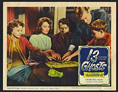 Gimmick Illusion - 13 Ghosts (1960) Original U.S. Scene Lobby Card Movie Poster 11x14 Fine Condition