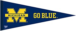 WinCraft NCAA 90993013 University of Michigan Premium Pennant, 12