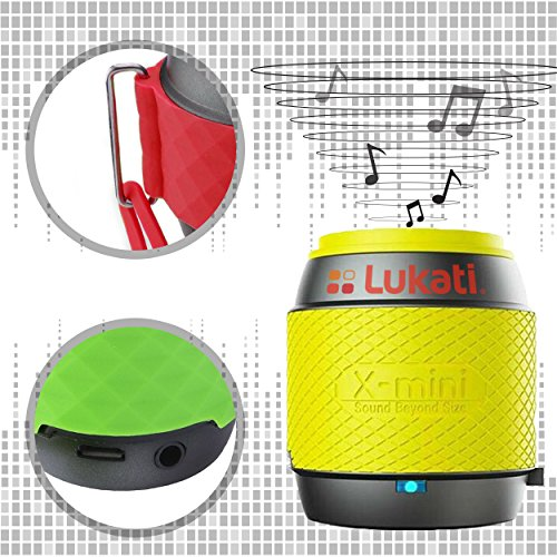 Lukati Ultra-Portable Wireless Bluetooth Speaker,Powerful Sound Works for iPhone, iPad,iPod, Blackberry, Nexus, Samsung and All other Bluetooth Enabled Devices. This Mini Speaker Works Beautifully Weather You Use it As a Center Channel Speaker or You Place it on Your Bookshelf. You Will be Amazed By Lifelike Room Filling Sound From A Compact Satellite Speaker System That Can Stream All Your Favorite Music At A Touch of A Button. Black.