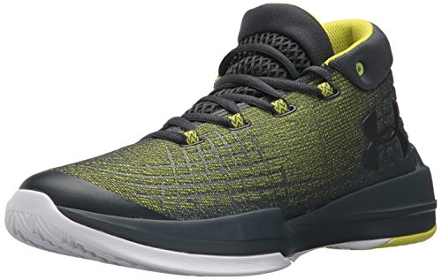 Under Armour Men's NXT Basketball Shoe, Smash Yellow (772)/Stealth Gray, 10.5