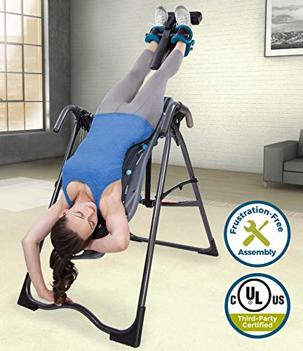 Inversion Table, 2019 Model, Back Pain Relief Kit